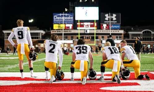 Photos: Iowa football tailgating and pregame at Maryland