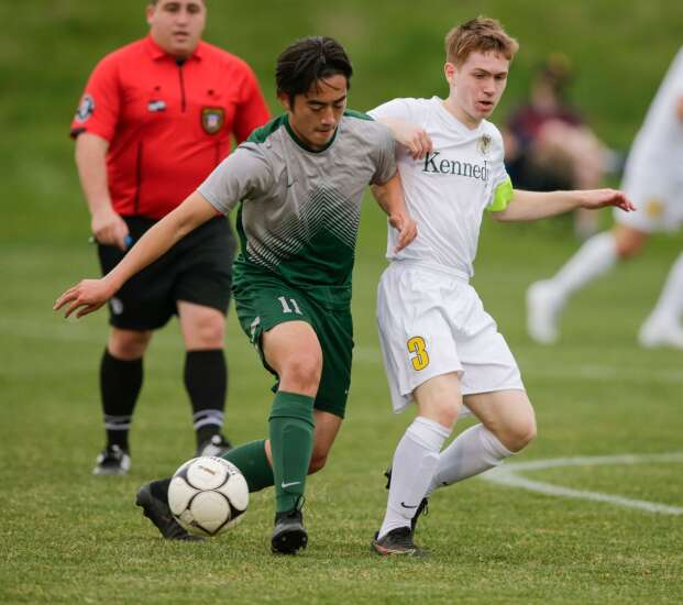 Photos: Cedar Rapids Kennedy vs. Iowa City West, Iowa high school boys' soccer