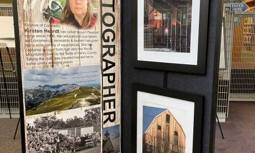 Kirsten Heerdt's photography featured at library