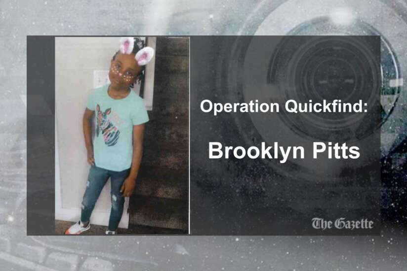 Operation Quickfind issued for Brooklyn Pitts of Marion (Canceled)