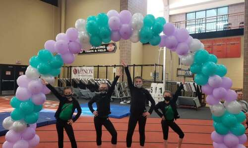 Twisters gymnastics teams shine at state tournaments
