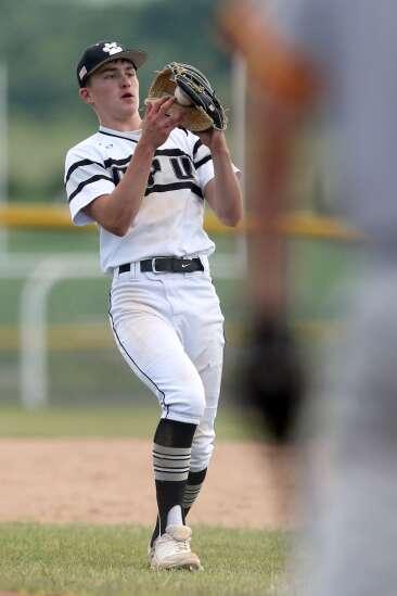 Photos: Marion vs. Center Point-Urbana, Iowa high school baseball