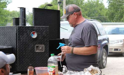 BBQ heaven at the fair