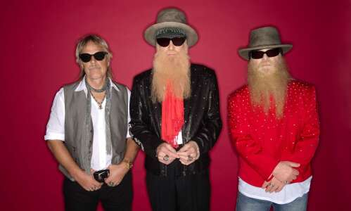 ZZ Top spinning into Manchester for Delaware County Fair