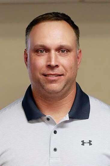 Jason Dumont steps up from defensive coordinator to interim head coach of Iowa City Regina football