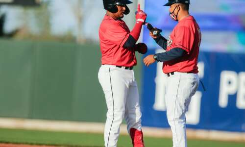 Kernels player stayed sharp during pandemic by hitting ... kernels