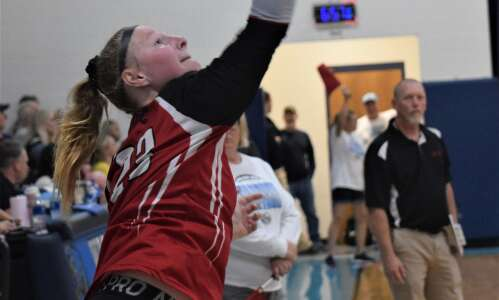 Pekin loses to Mediapolis in volleyball