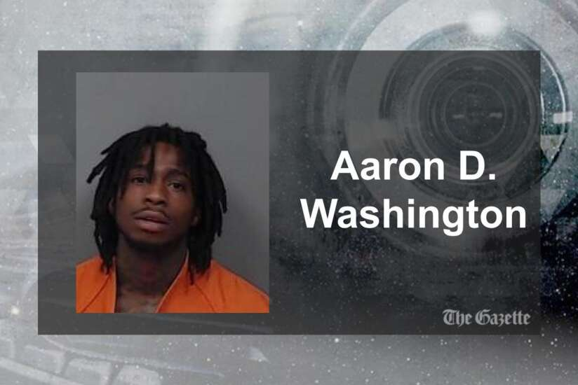 Aaron Washington accused of attempted murder after Cedar Rapids shots fired incident Monday