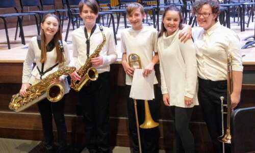Winfield-Mt. Union Junior High Band participates in BandFest