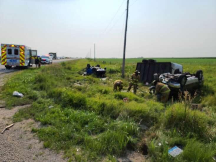 Sheriff's office identifies man killed in Monday morning crash near Central City and Alburnett