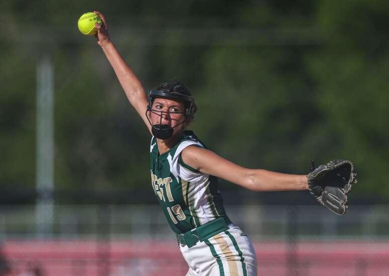Photos: Iowa City West vs. Iowa City High, Iowa high school softball