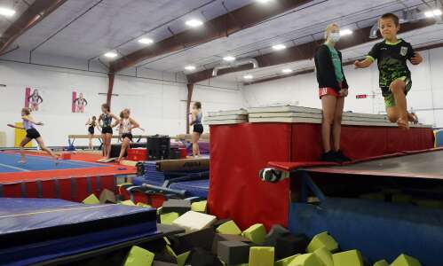 Iowa gymnastics centers see 'big push' in registration after Olympics