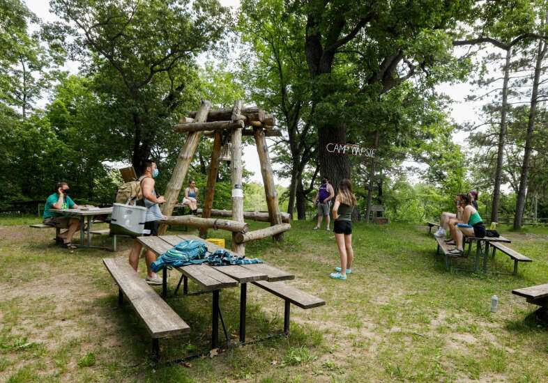 Iowa summer camps reopen with new COVID-19 protocols
