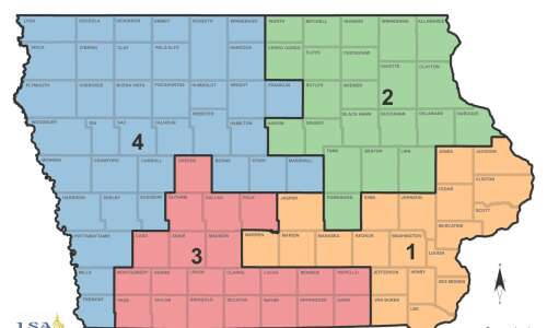 Iowa Legislature meets to consider second redistricting map