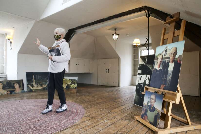 Docent finds lots to love — and learn — at C.R. Museum of Art