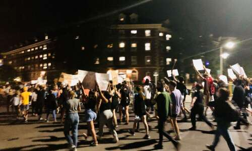 Peaceful protests against UI fraternity follow night of vandalism