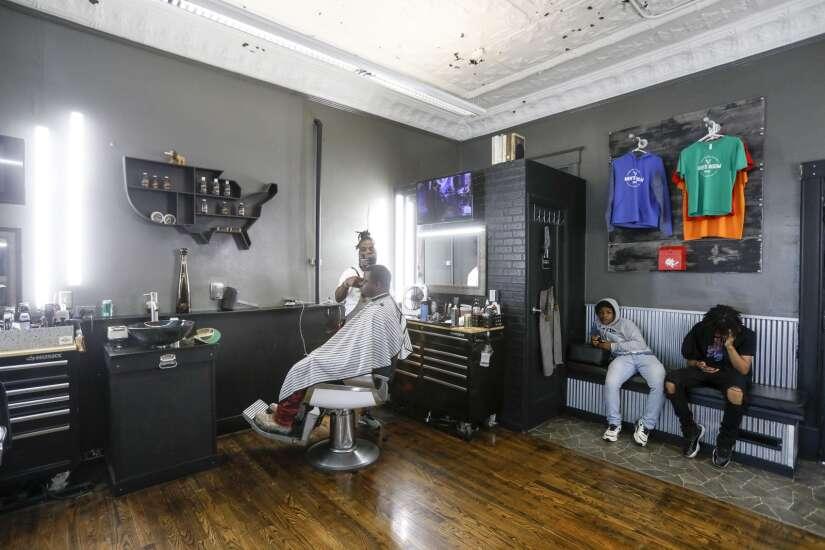 Men's Room Hair and Beard Parlor grows, despite pandemic