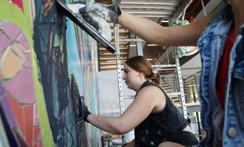 Pieces of community come together in Harris Building public art