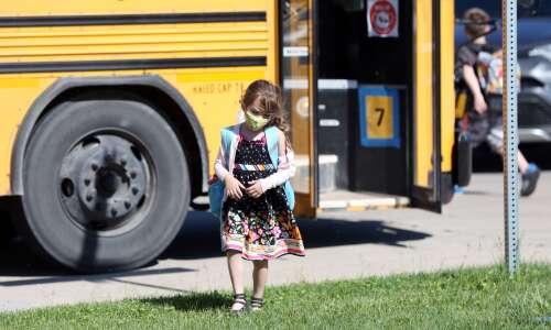 Eastern Iowa parents, school officials lament loss of mask mandate