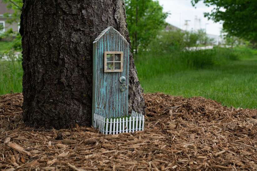 New mythical residents living in North Liberty trees