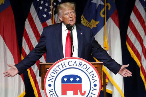 Trump to GOP: Support candidates who 'stand for our values'