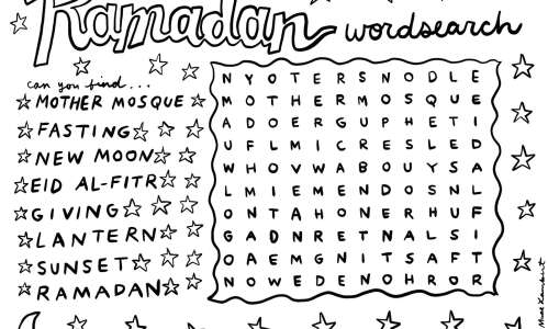 Can you find everything in this Ramadan word search?
