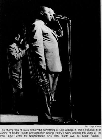 Time Machine: Jazz great Louis Armstrong was no stranger to Iowa