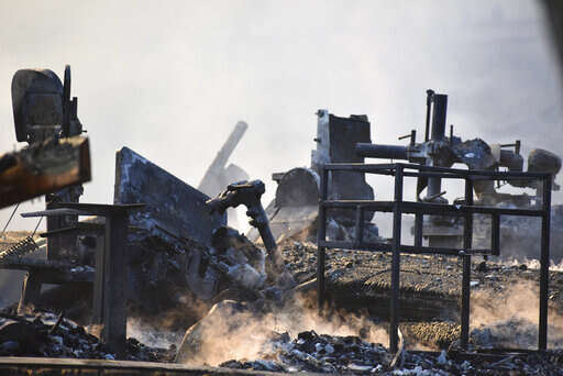 Fire destroys pipe organ business in western Iowa