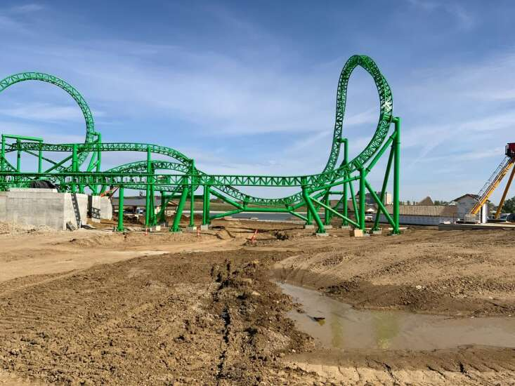 Behind the scenes at Iowa's Lost Island Theme Park in Waterloo