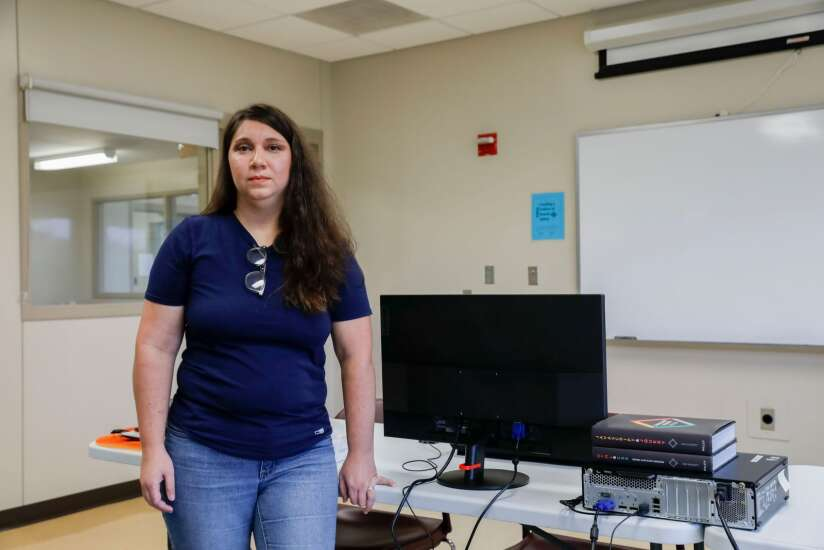 Iowa prison coding program gives women other options