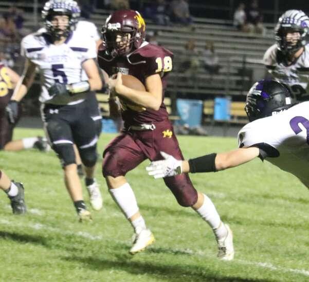 Keokuk frustrates Mt. Pleasant football team