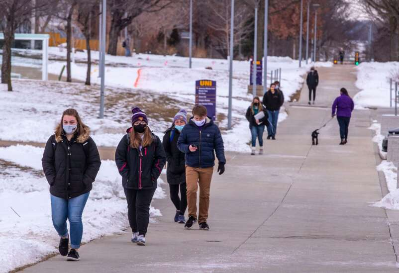 University of Northern Iowa faculty opt for less-combative stance on mask mandates