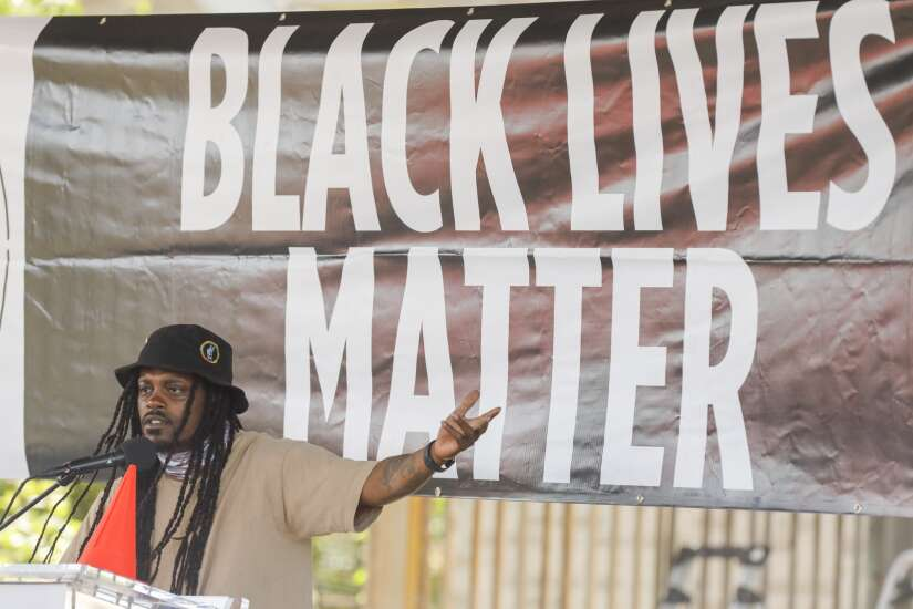 Marion social justice activists call for action and unity