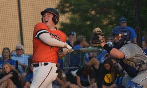 Clear Creek-Amana triple play helps end Washington baseball season in…