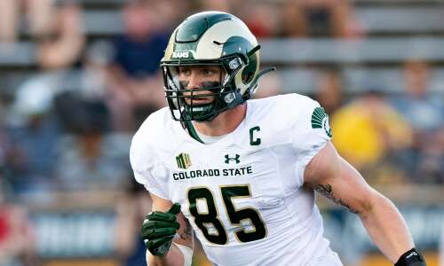 Colorado State features one of country's top tight ends