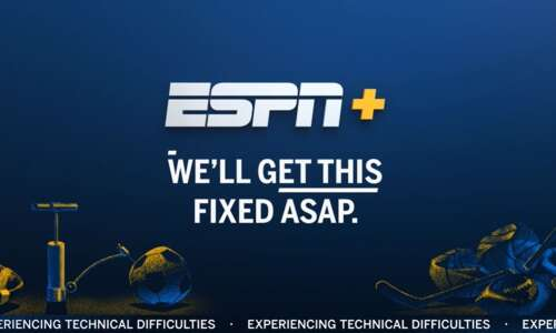 UNI-Iowa State broadcast on ESPN+ crashes during final drive