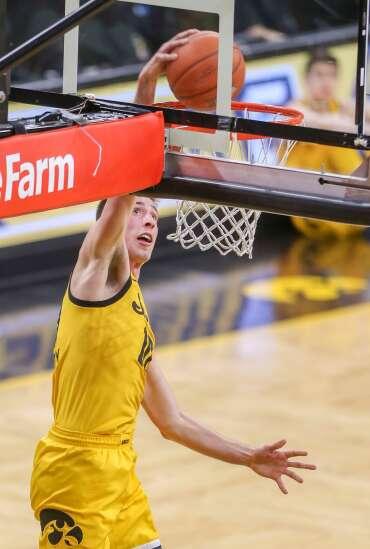 Iowa's Joe Wieskamp going through NBA draft process