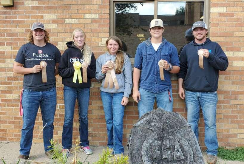 Fairfield FFA participates in soil judging