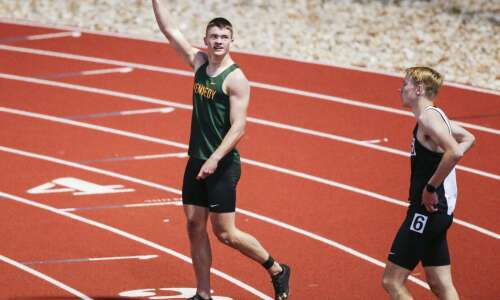 Photos: State-qualifying track meet at Kingston Stadium
