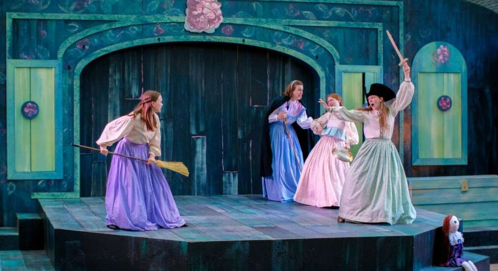 Review: Theatre Cedar Rapids, Brucemore create exquisite setting for 'Little Women'