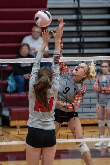 Photos: Wamac Conference volleyball tournament pool play
