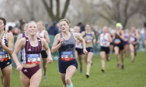 Mount Mercy's Kelsi Huhndorf seizes the day at NAIA cross…