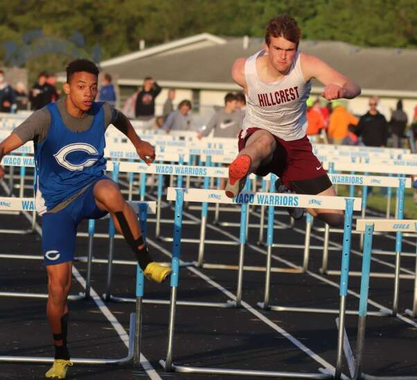 Cardinal's Greiner wins 4 events, sets school record in 2
