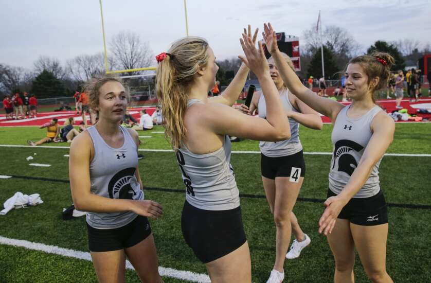 Mid-Prairie girls on track for return to the top of 2A