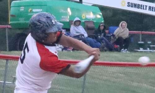 Pekin starts, Cardinal finishes in Substate baseball opener
