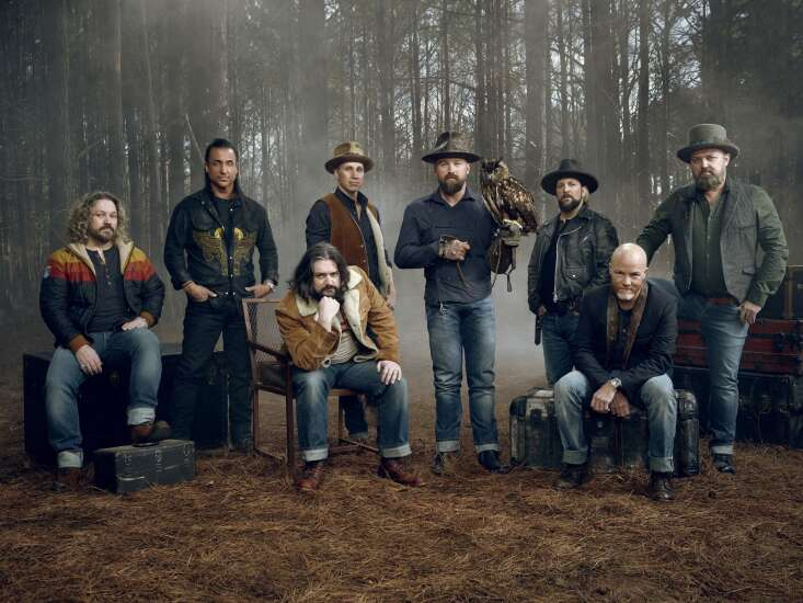 Zac Brown Band swooping into Great Jones County Fair in Monticello