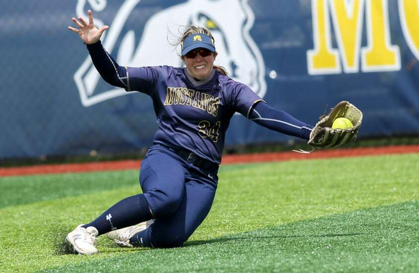 Photos: Mount Mercy softball vs. Grand View, Heart of America Conference tournament finals