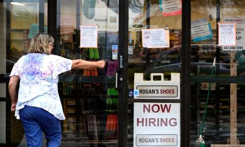 Iowa sees climb in new jobless claims