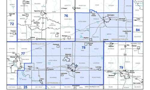 Proposed maps shake up area legislative districts