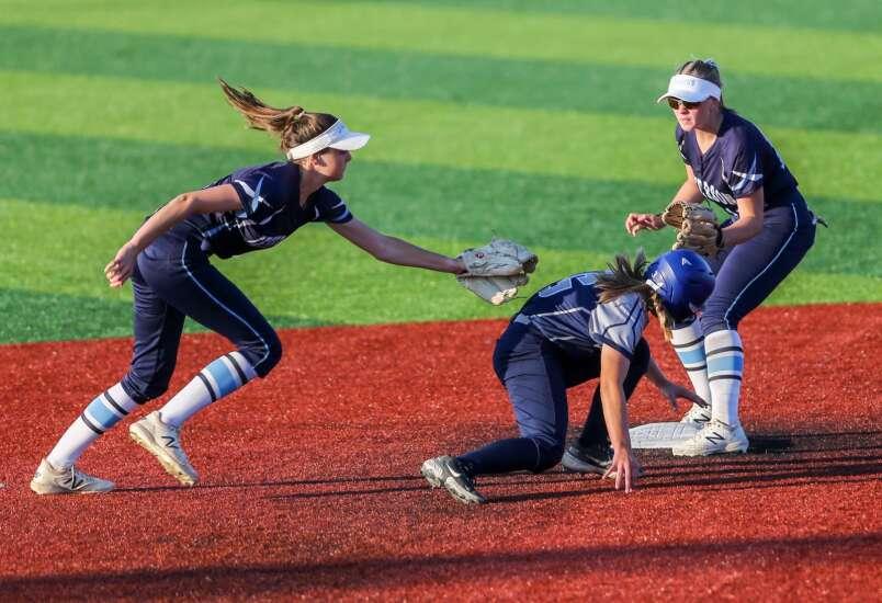 Photos: Cedar Rapids Xavier vs. Cedar Rapids Jefferson, Iowa high school softball